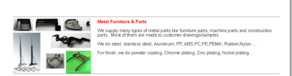 Metal Furniture & Parts